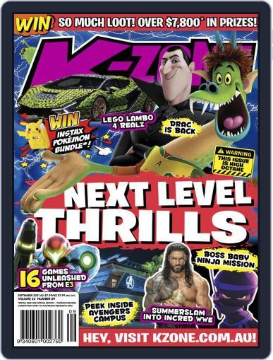 K-Zone (Digital) September 1st, 2021 Issue Cover