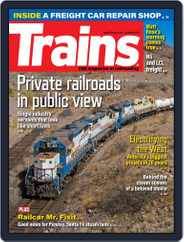Trains (Digital) Subscription October 1st, 2021 Issue