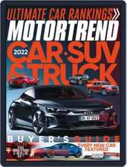 MotorTrend (Digital) Subscription October 1st, 2021 Issue