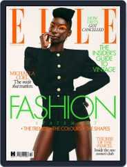 Elle UK (Digital) Subscription October 1st, 2021 Issue