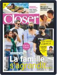 Closer France (Digital) Subscription September 3rd, 2021 Issue