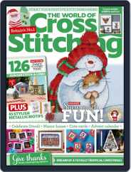 The World of Cross Stitching (Digital) Subscription November 1st, 2021 Issue