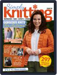Simply Knitting (Digital) Subscription November 1st, 2021 Issue