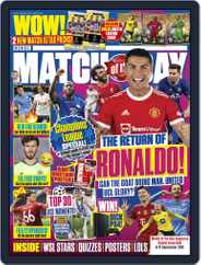 Match Of The Day (Digital) Subscription September 8th, 2021 Issue