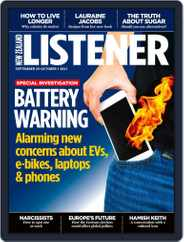 New Zealand Listener (Digital) Subscription September 25th, 2021 Issue