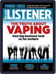 New Zealand Listener (Digital) Subscription October 2nd, 2021 Issue