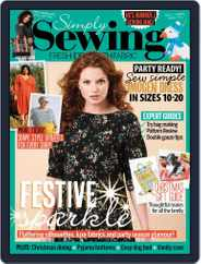 Simply Sewing (Digital) Subscription October 1st, 2021 Issue