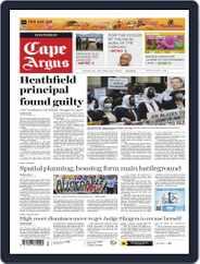 Cape Argus (Digital) Subscription October 13th, 2021 Issue