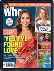 WHO (Digital) Subscription October 25th, 2021 Issue