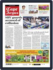 Cape Argus (Digital) Subscription October 15th, 2021 Issue