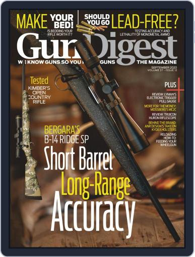 Gun Digest Digital Magazine September 5th, 2020 Issue Cover