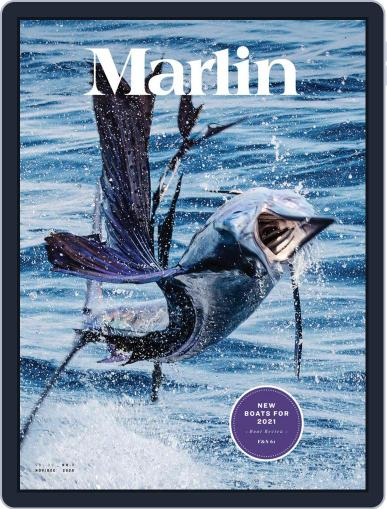 Marlin Digital Magazine November 1st, 2020 Issue Cover