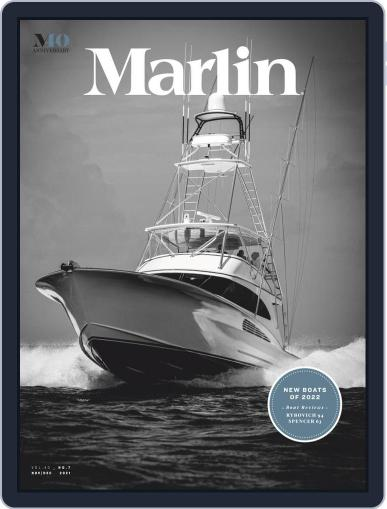 Marlin Digital Magazine November 1st, 2021 Issue Cover