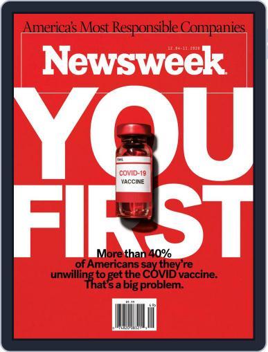 Newsweek Magazine (Digital) December 4th, 2020 Issue Cover