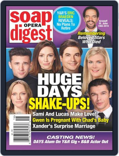 Soap Opera Digest Digital Magazine April 19th, 2021 Issue Cover