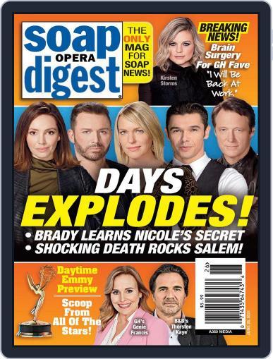 Soap Opera Digest Digital Magazine June 28th, 2021 Issue Cover
