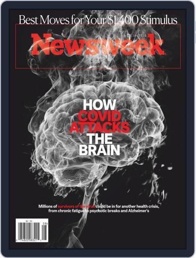 Newsweek Digital Magazine February 19th, 2021 Issue Cover