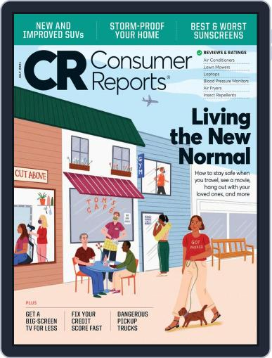 Consumer Reports Magazine (Digital) July 1st, 2021 Issue Cover
