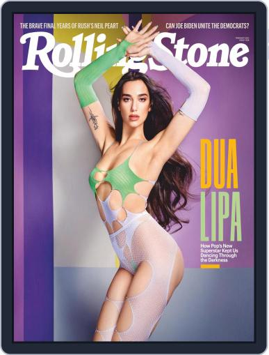 Rolling Stone Magazine (Digital) February 1st, 2021 Issue Cover