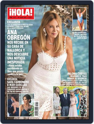 Hola Magazine (Digital) July 28th, 2021 Issue Cover