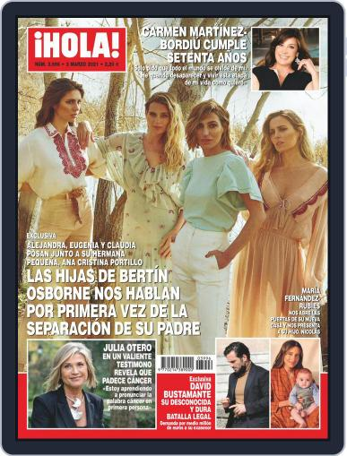 Hola Magazine (Digital) March 3rd, 2021 Issue Cover