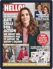 Hello! Magazine (Digital) Subscription December 7th, 2020 Issue