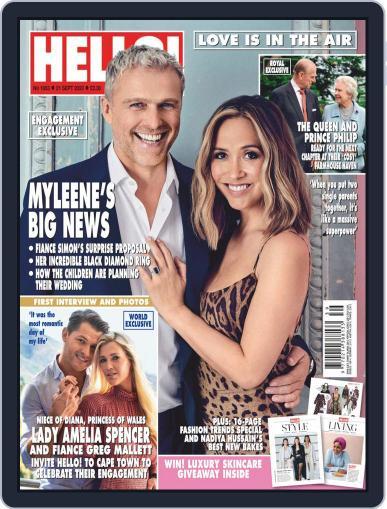 Hello! Magazine (Digital) September 21st, 2020 Issue Cover