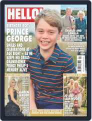 Hello! Magazine (Digital) Subscription August 2nd, 2021 Issue