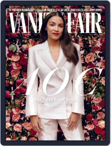 Vanity Fair Magazine (Digital) December 1st, 2020 Issue Cover