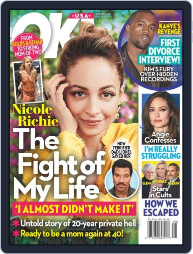 Ok! Magazine (Digital) February 22nd, 2021 Issue Cover