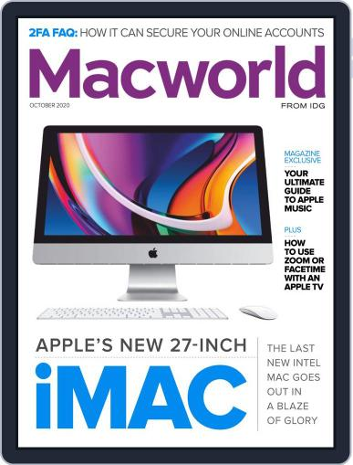 Macworld Magazine (Digital) October 1st, 2020 Issue Cover