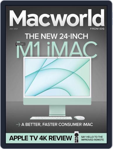 Macworld Magazine (Digital) July 1st, 2021 Issue Cover