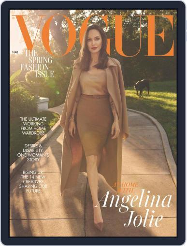 British Vogue Magazine (Digital) March 1st, 2021 Issue Cover