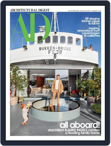 Architectural Digest Magazine (Digital) November 1st, 2020 Issue Cover
