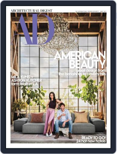 Architectural Digest Magazine (Digital) June 1st, 2021 Issue Cover