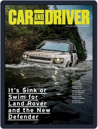 Car and Driver Magazine (Digital) November 1st, 2020 Issue Cover