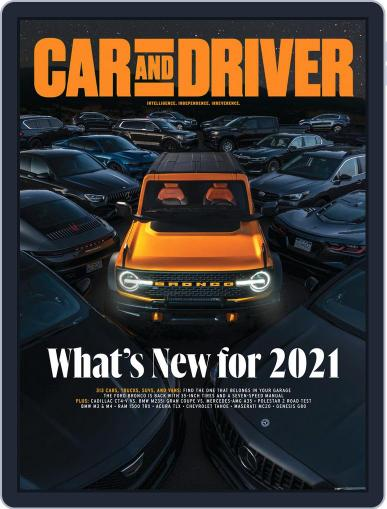 Car and Driver Magazine (Digital) October 1st, 2020 Issue Cover