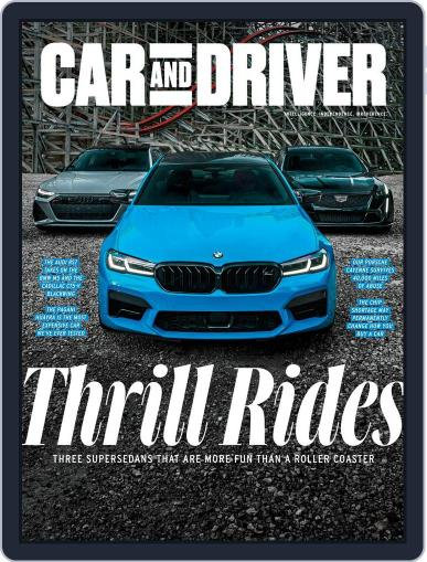 Car and Driver Magazine (Digital) November 1st, 2021 Issue Cover