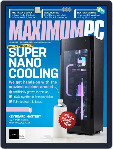 Maximum PC Magazine (Digital) November 1st, 2020 Issue Cover