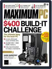 Maximum PC Magazine (Digital) Subscription April 1st, 2021 Issue