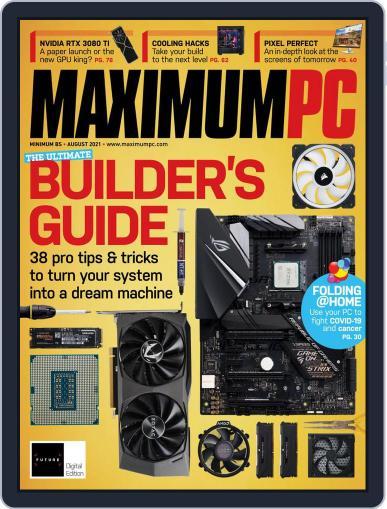 Maximum PC Magazine (Digital) August 1st, 2021 Issue Cover