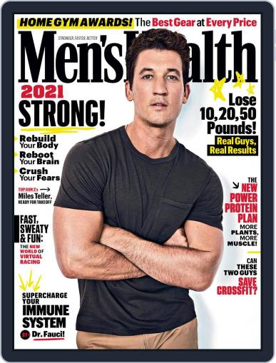 Men's Health Magazine (Digital) January 1st, 2021 Issue Cover