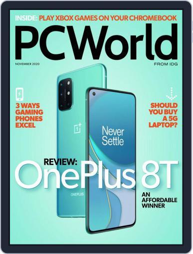 PCWorld Magazine (Digital) November 1st, 2020 Issue Cover
