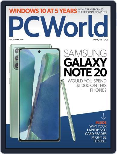 PCWorld Magazine (Digital) September 1st, 2020 Issue Cover