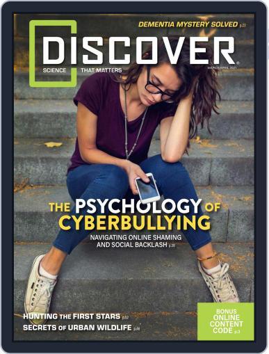 Discover Magazine (Digital) Cover