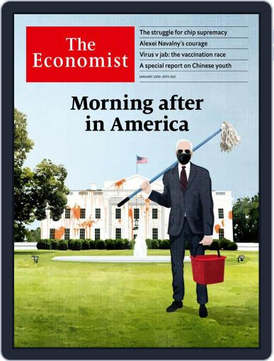 The Economist Magazine (Digital) January 23rd, 2021 Issue Cover