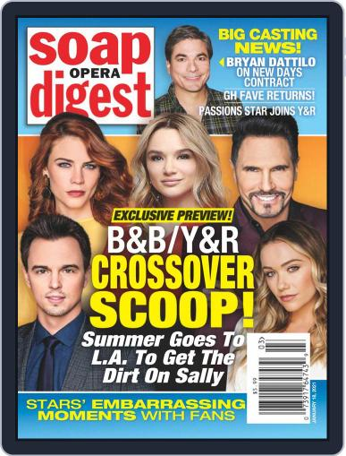 Soap Opera Digest Magazine (Digital) January 18th, 2021 Issue Cover