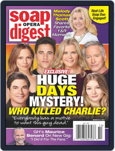 Soap Opera Digest Magazine (Digital) March 8th, 2021 Issue Cover