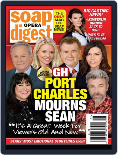Soap Opera Digest Magazine (Digital) May 24th, 2021 Issue Cover