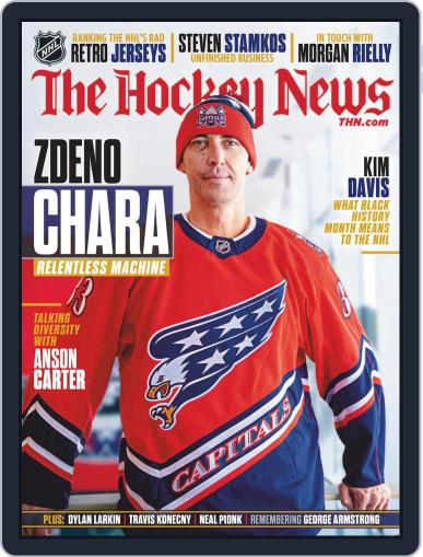The Hockey News Magazine (Digital) February 1st, 2021 Issue Cover